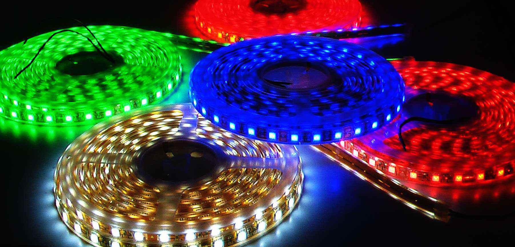 Đèn Led đơn sắc dùng cho chiếu sáng và trang trí tòa nhà
