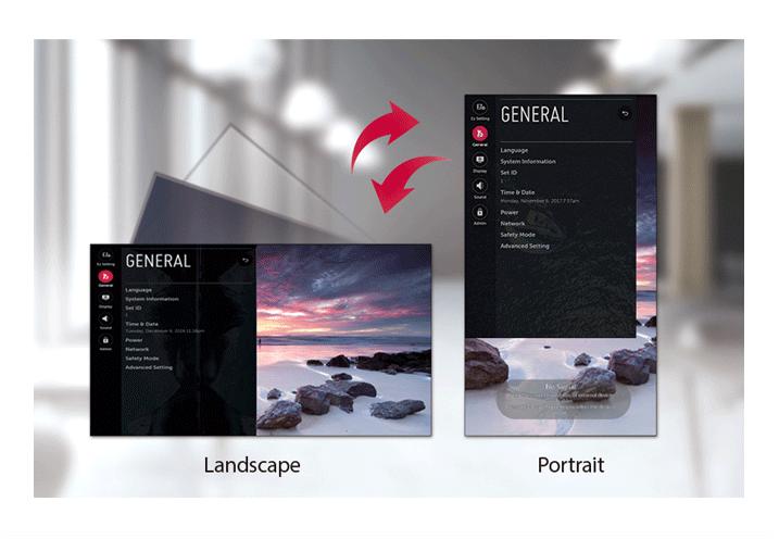 GUI chuyên dụng cho định hướng dọc