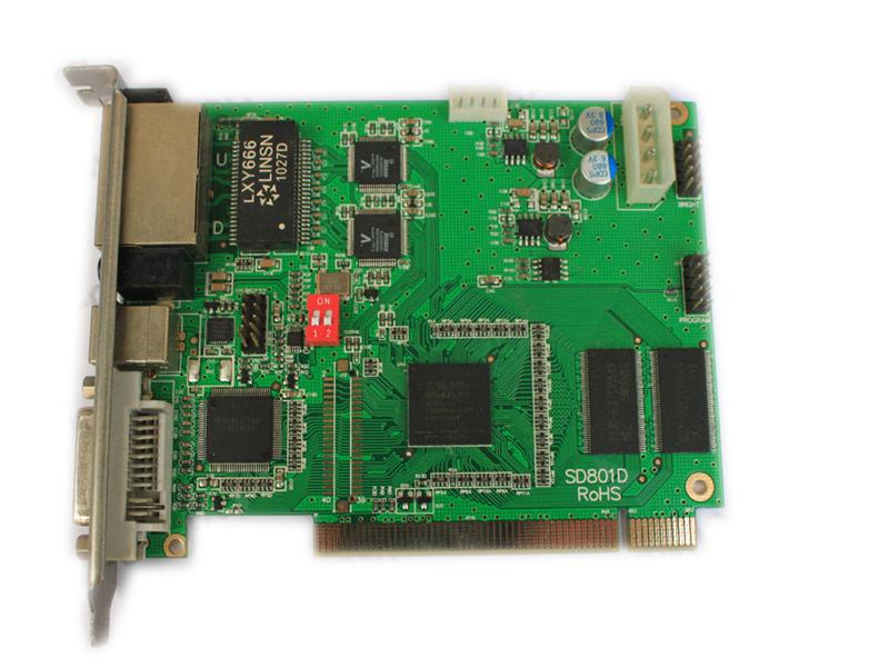 CARD PHÁT MÀN HÌNH LED DS801 LINSN