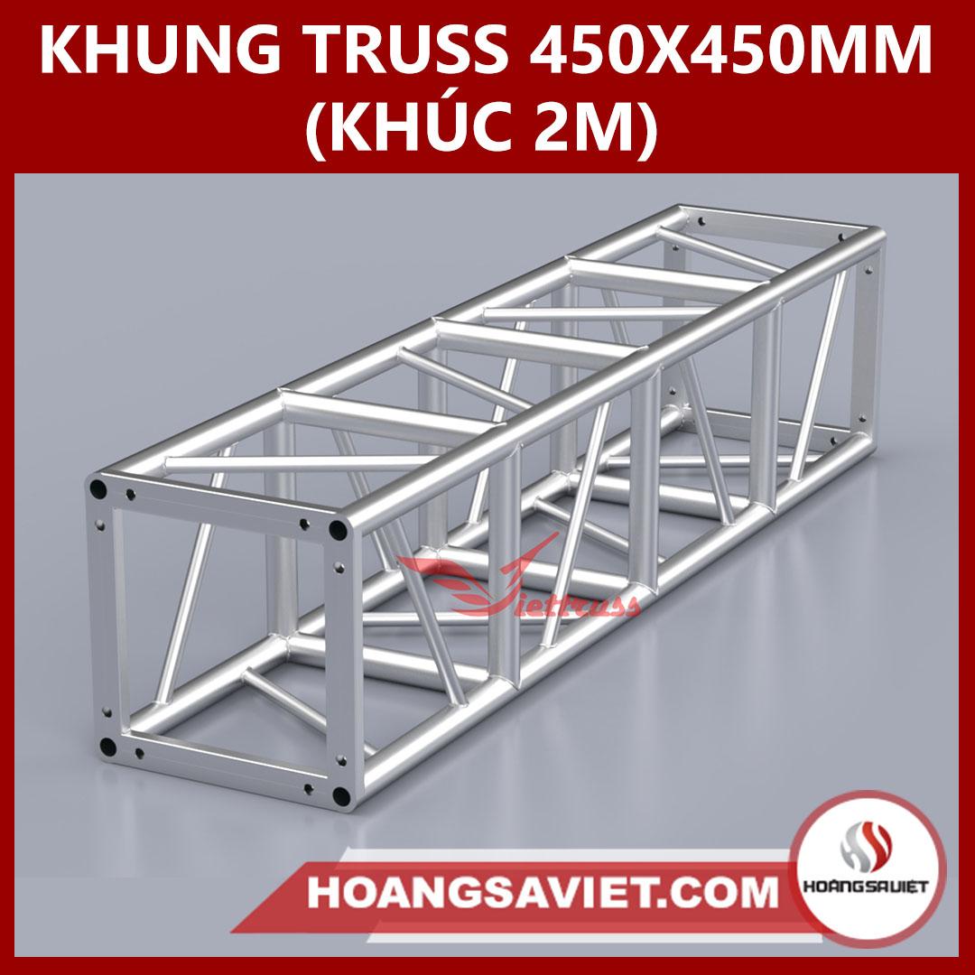 Khung Truss 450x450mm (Khúc 2m) VS4545BP_2m