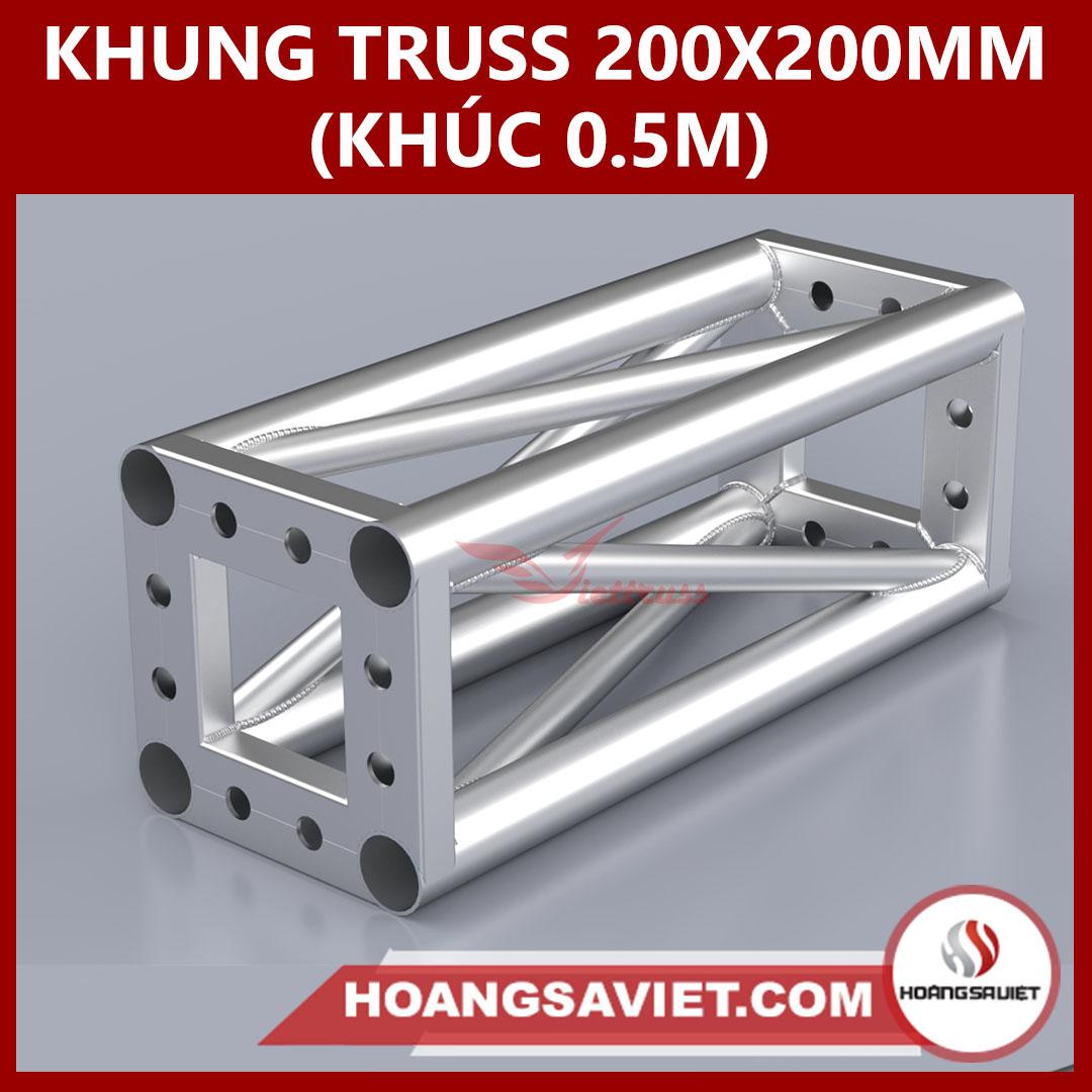 Khung Truss 200x200mm (Khúc 0.5m) VS2020B_0.5m