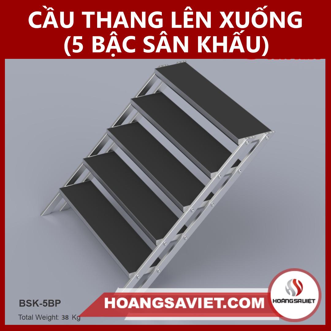 Cầu Thang Lên Xuống 5 Bậc (Sân Khấu)