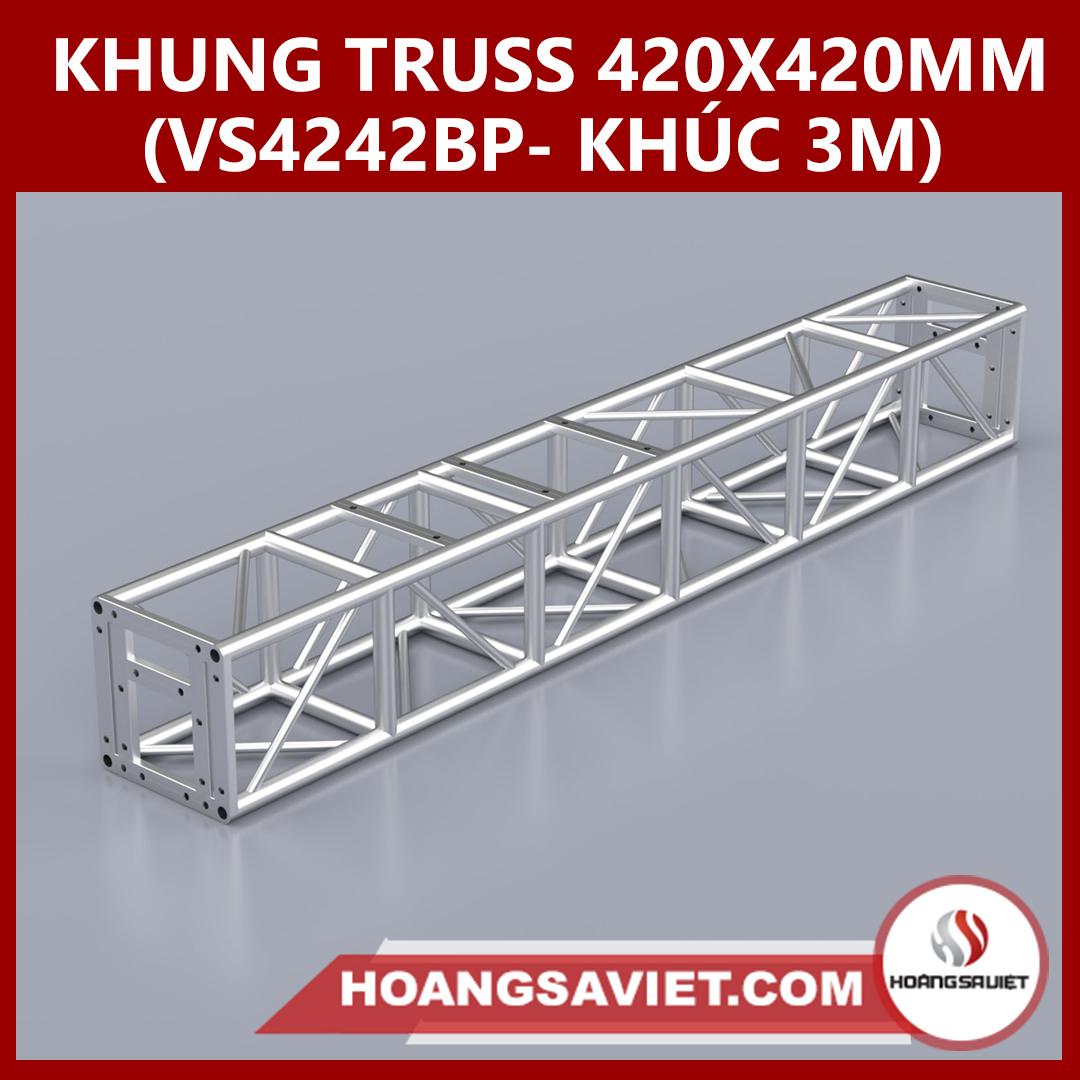 Khung Truss 420x420mm Vs4242BP(Khúc 3m)-XNT420BP-NB140-12-25