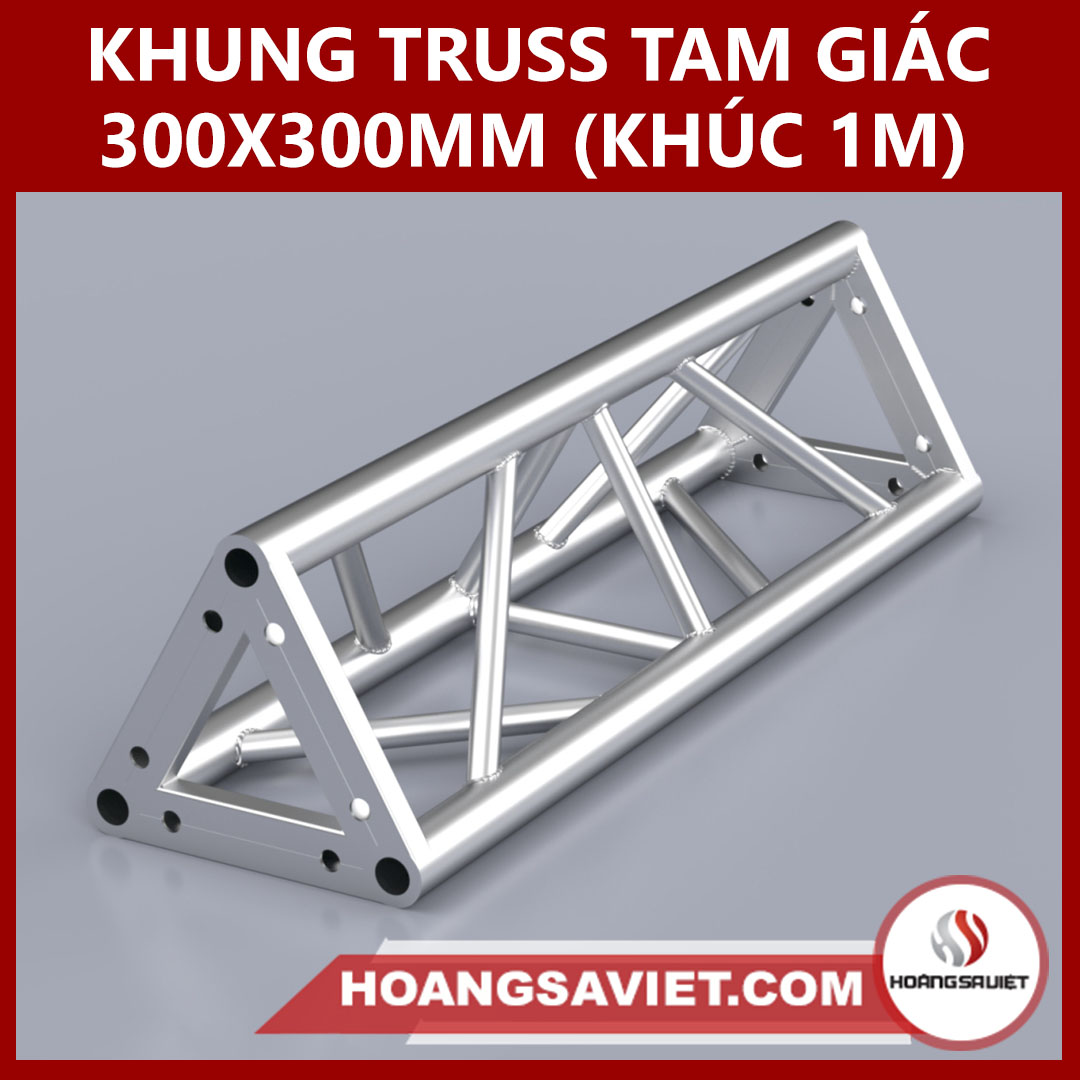 Khung Truss 300x300mm (Khúc 1m) VT3030B_1m (tam Giác)