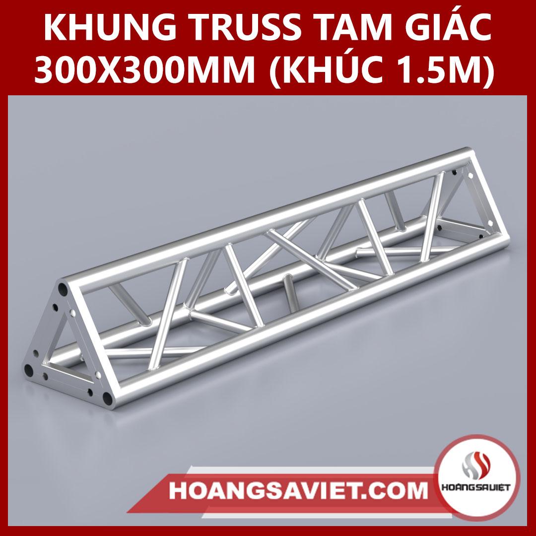Khung Truss 300x300mm (Khúc 1.5m) VT3030B_1.5m (tam Giác)