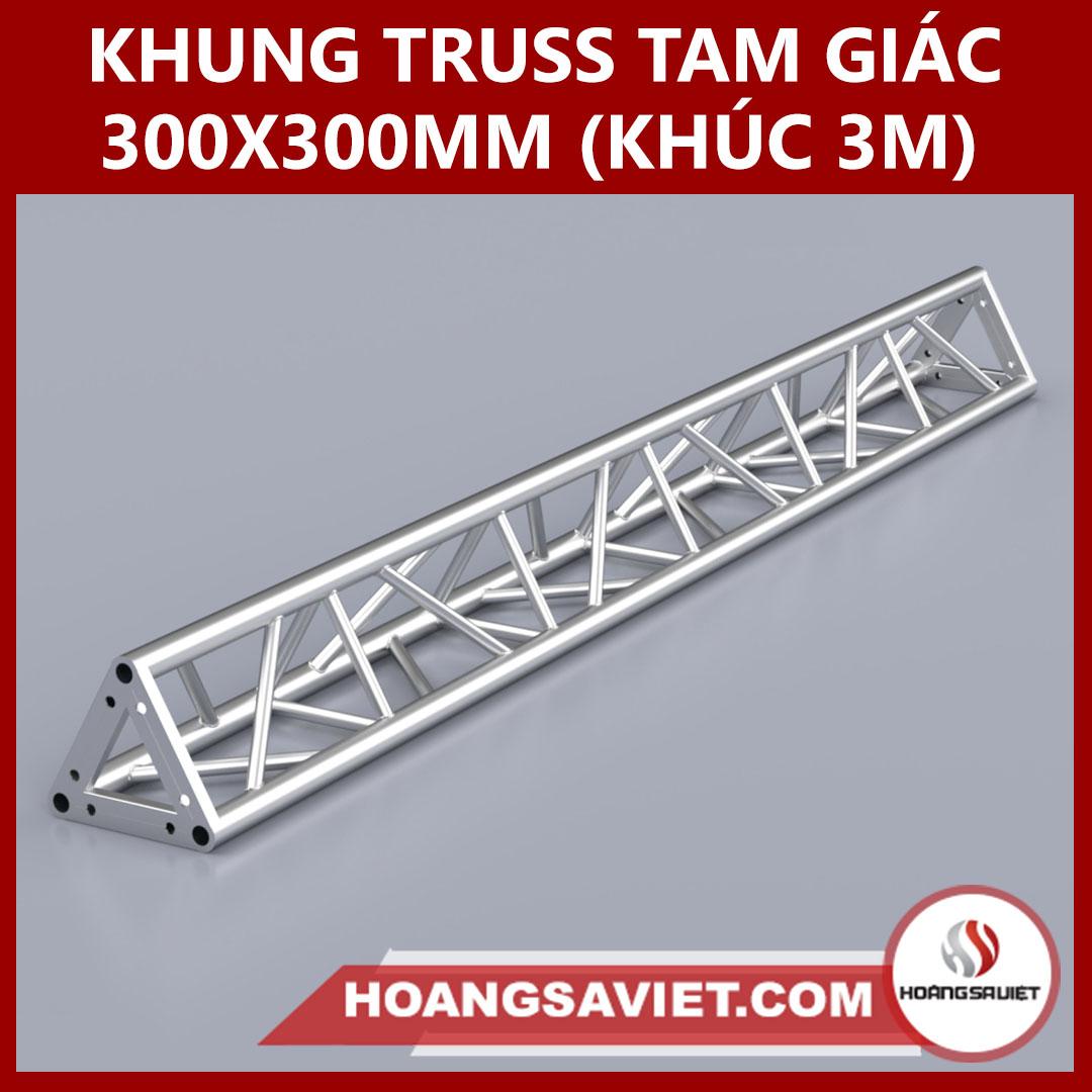 Khung Truss Tam Giác 300x300mm (Khúc 3.0m) VT3030B_3m (Tam Giác)
