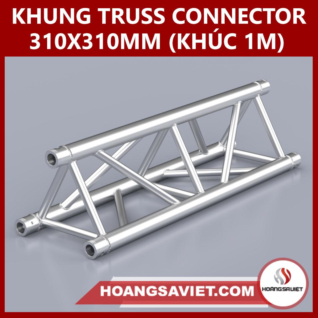 Khung Truss Connector 310x310mm (Khúc 1m) VT3131C_1m (tam Giác)