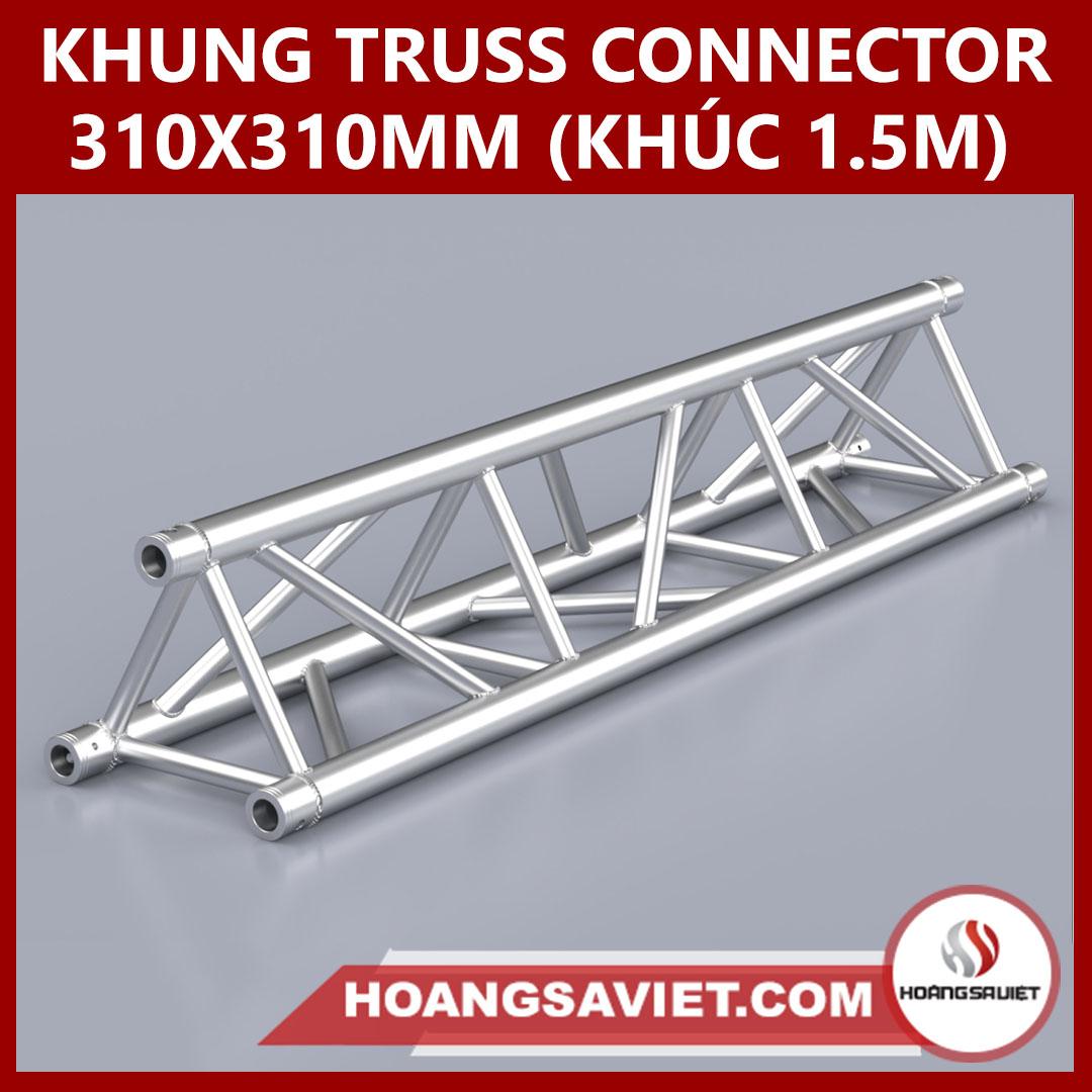 Khung Truss Connector 310x310mm (Khúc 1.5m) VT3131C_1.5m (tam Giác)
