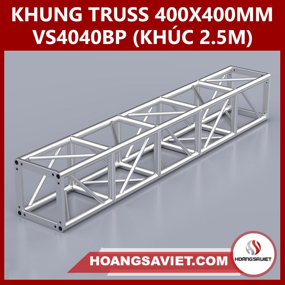 Khung Truss 400x400mm (Khúc 2.5m) VS4040BP_2.5m