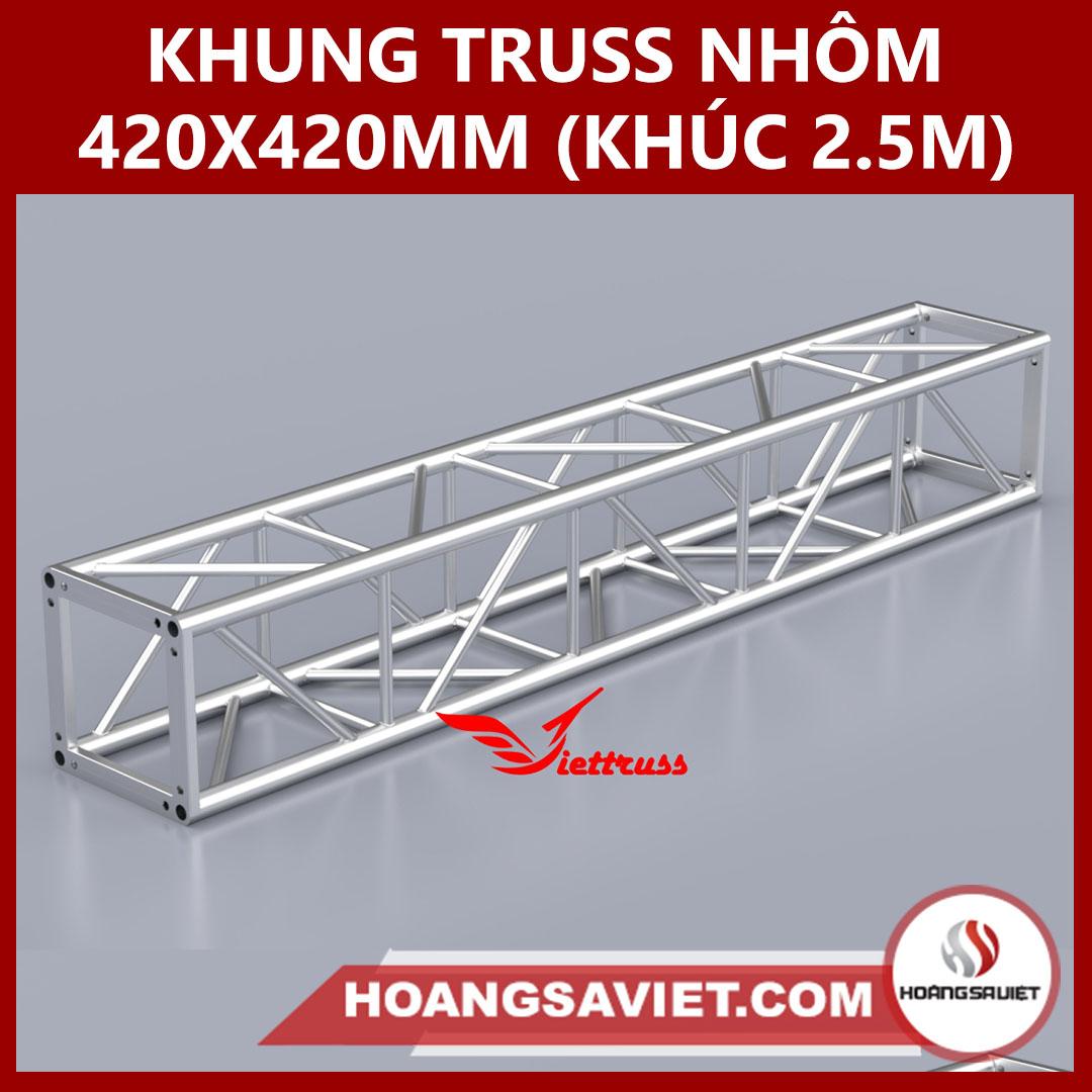 Khung Truss 420x420mm (Khúc 2.5m) VS4242B_2.5m