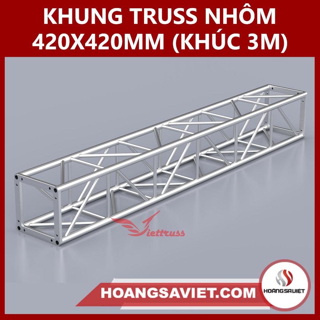 Khung Truss 420x420mm (Khúc 3m) VS4242B_3m
