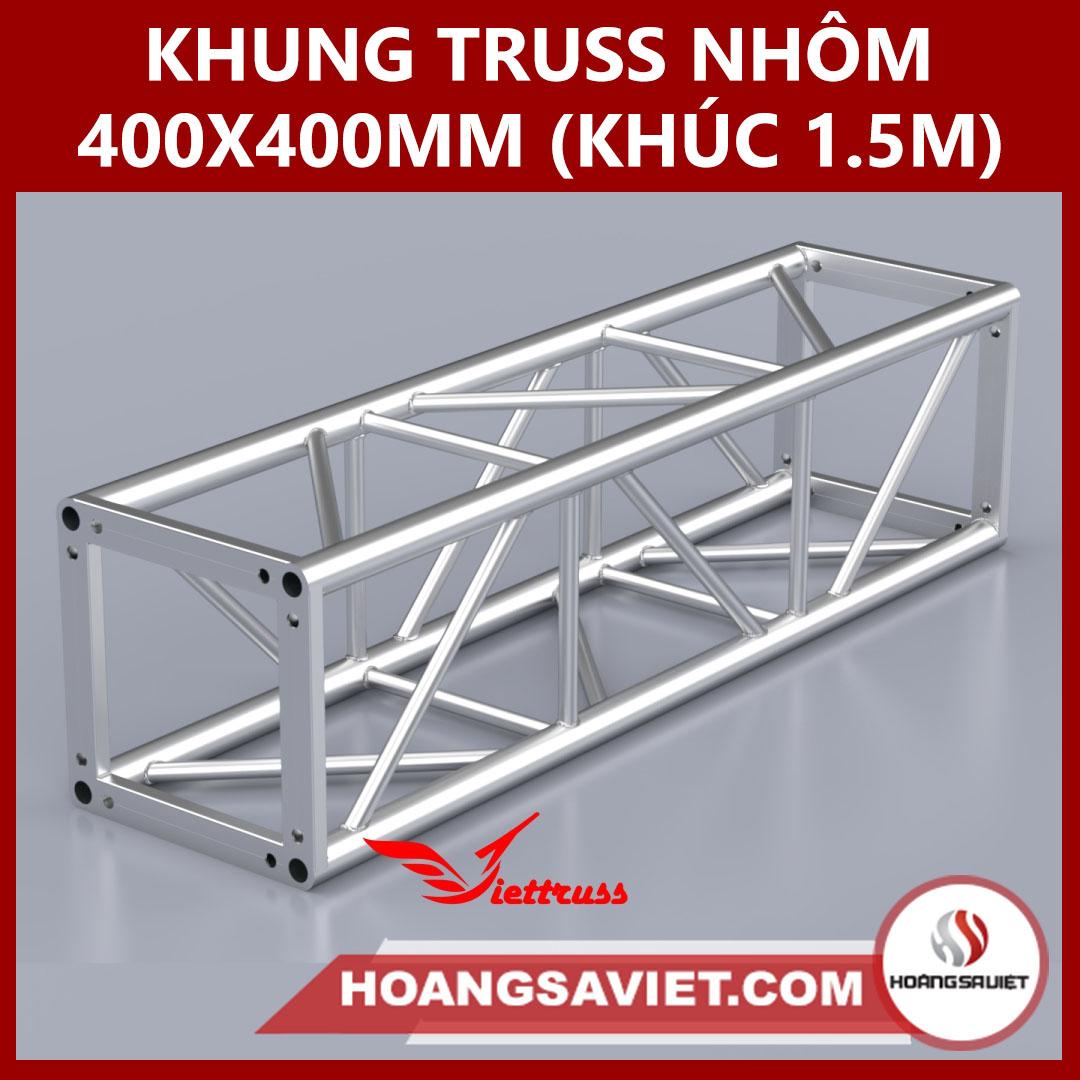 Khung Truss 400x400mm (Khúc 1.5m) VS4040B_1.5m