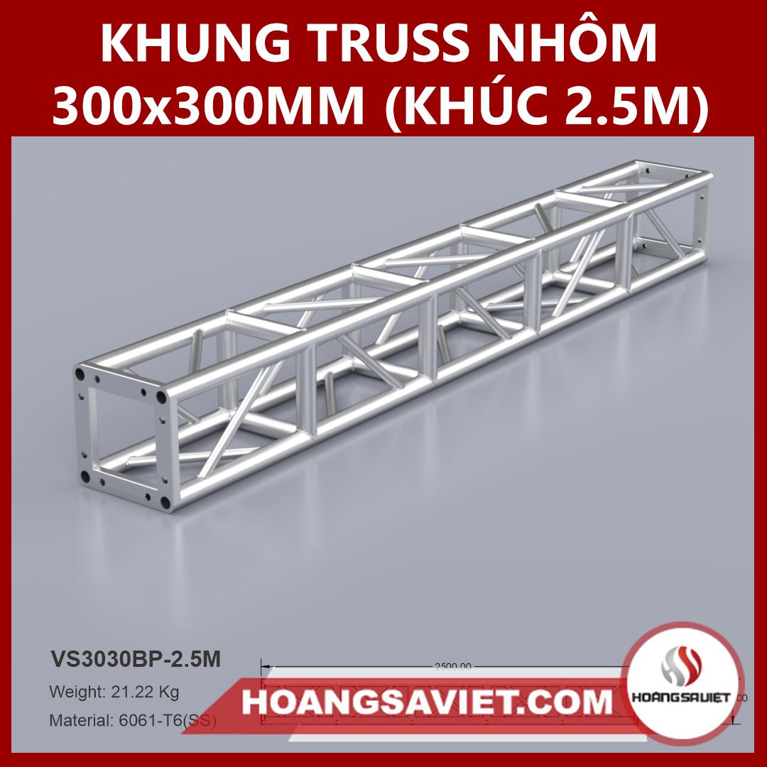 Khung Truss 300x300mm (Khúc 2.5m) VS3030BP_2.5m