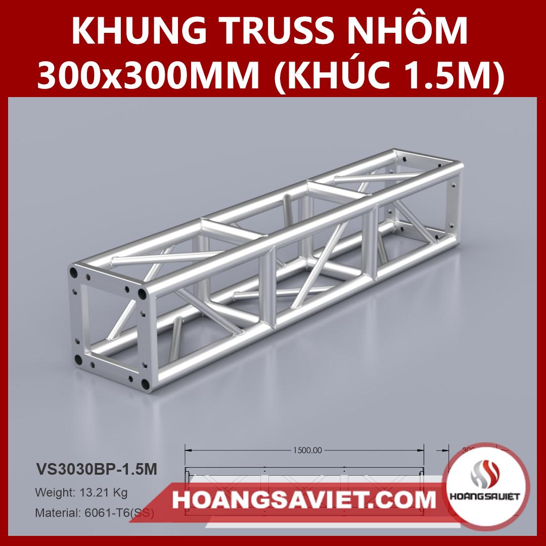 Khung Truss 300x300mm (Khúc 1.5m) VS3030BP_1.5m