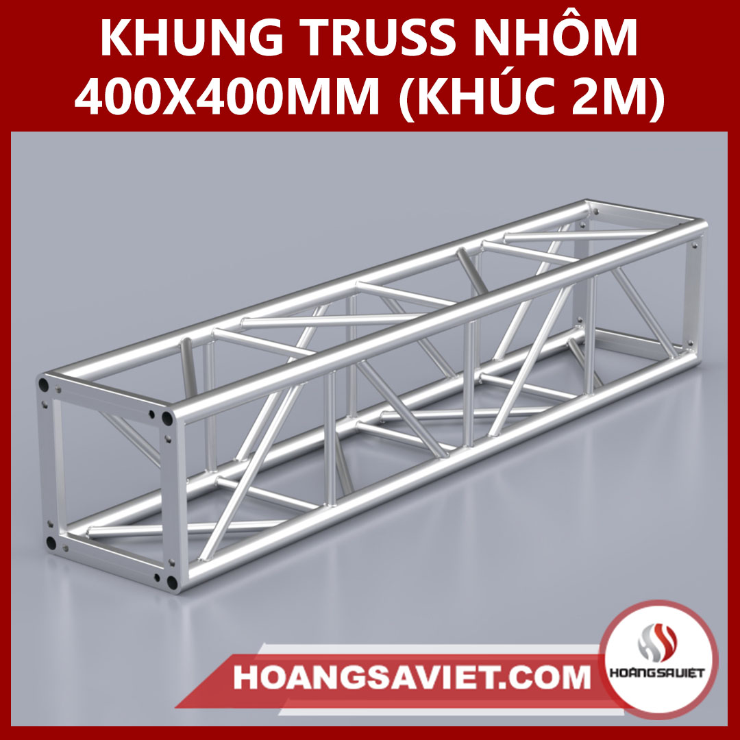 Khung Truss 400x400mm (Khúc 2m)  VS4040B_2m