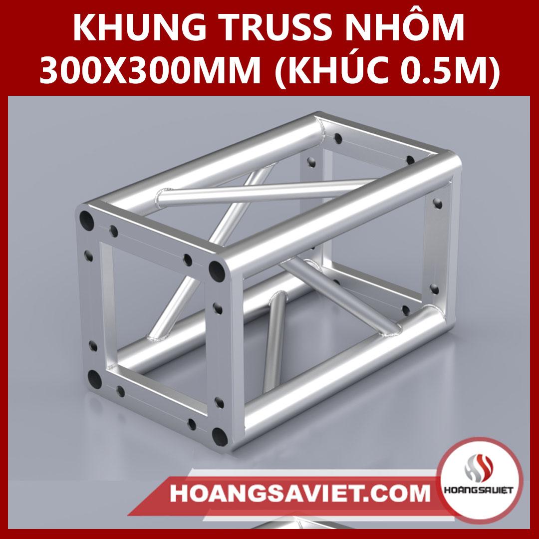 Khung Truss 300x300mm (Khúc 0.5m) VS3030B_0.5m