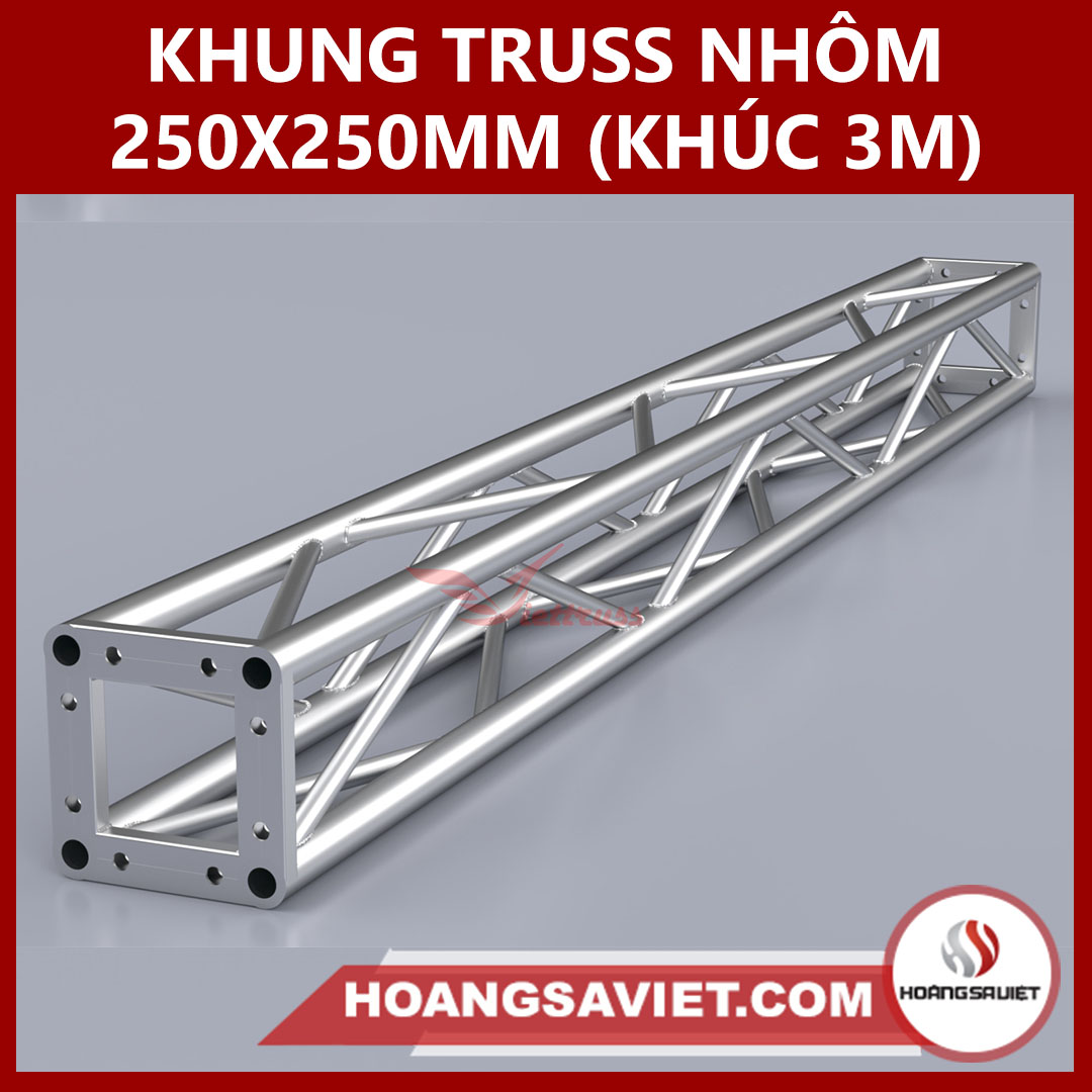 Khung Truss 250x250mm (Khúc 3.0m) VS2525B_3m