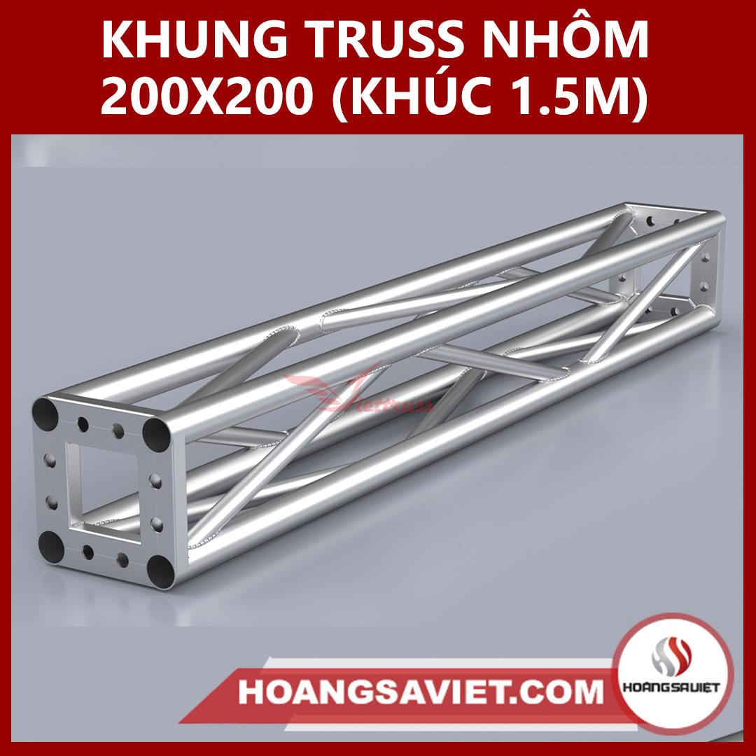 Khung Truss 200x200mm (Khúc 2.0m) VS2020B_1.5m