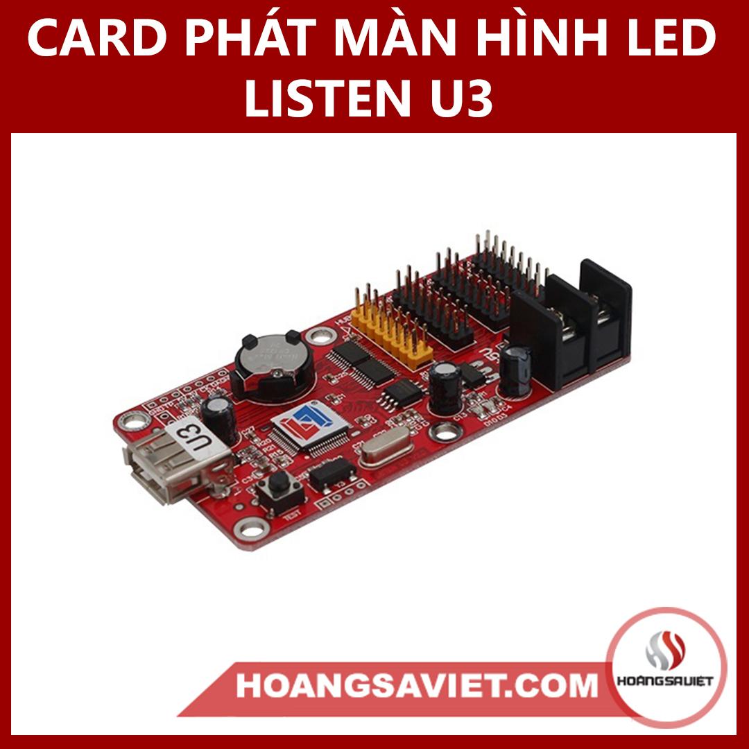 CARD PHÁT MÀN HÌNH LED LISTEN U3