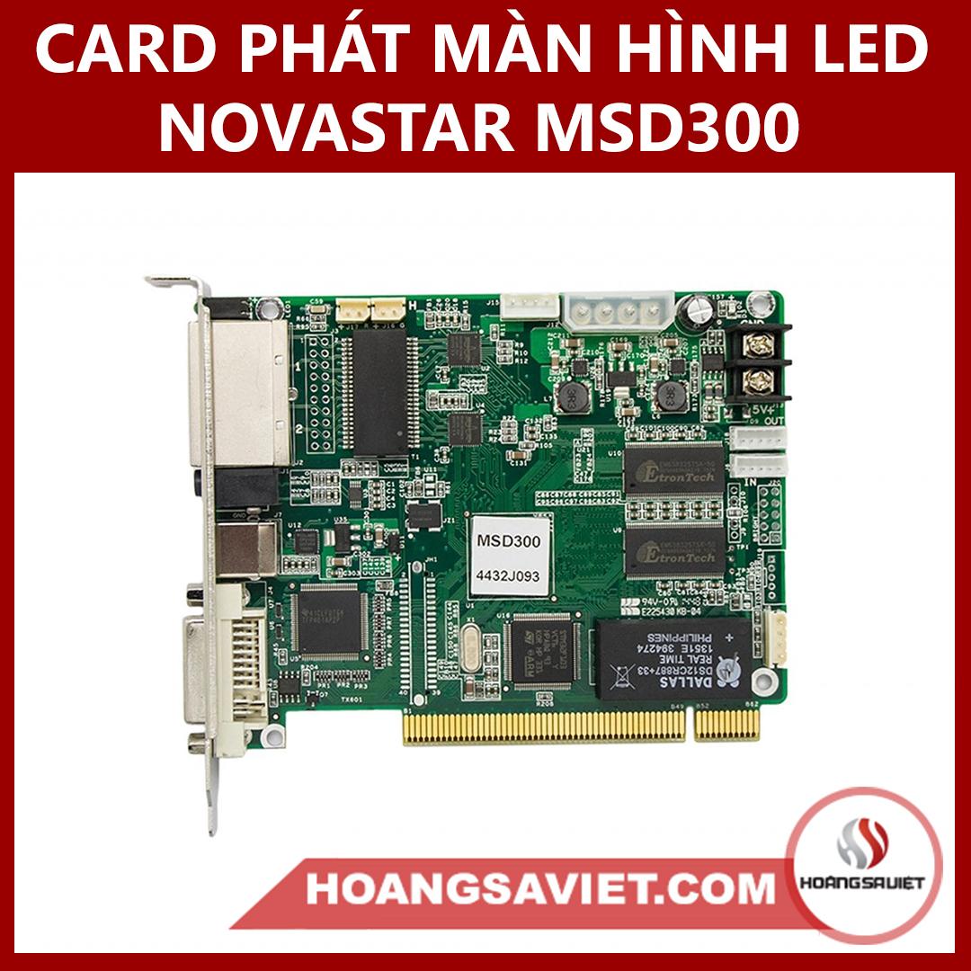 CARD PHÁT MÀN HÌNH LED NOVASTAR MSD300