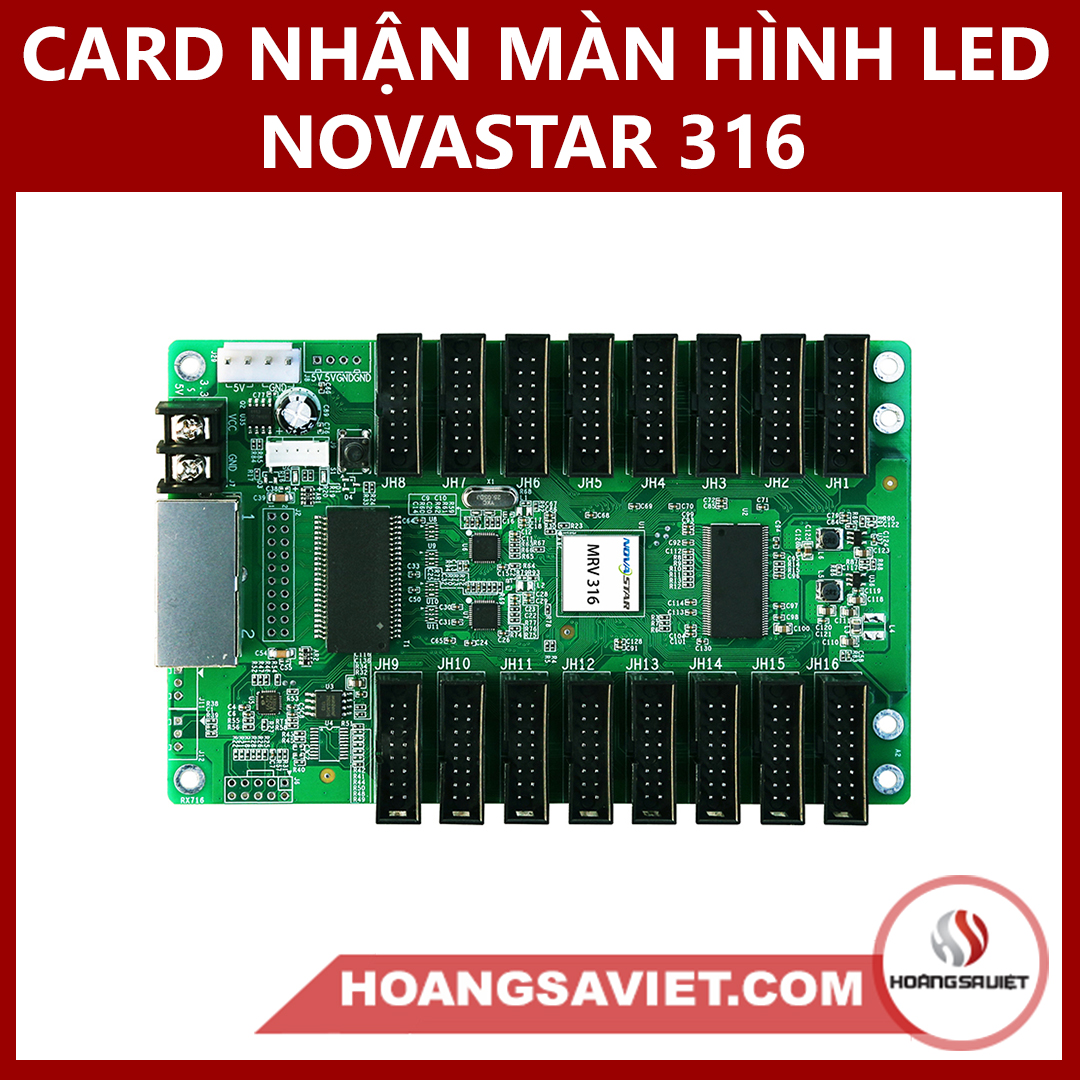 CARD NHẬN MÀN HÌNH LED NOVASTAR  316 (RECEIVE CARD)