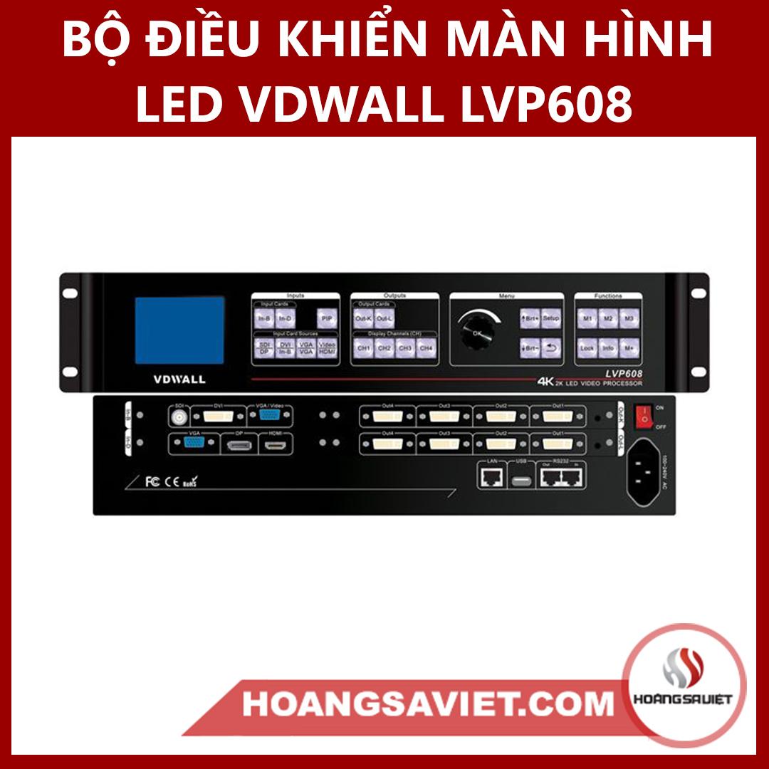 Bộ Điều Khiển Màn Hình LED VDWALL LVP608 (Video Processor)