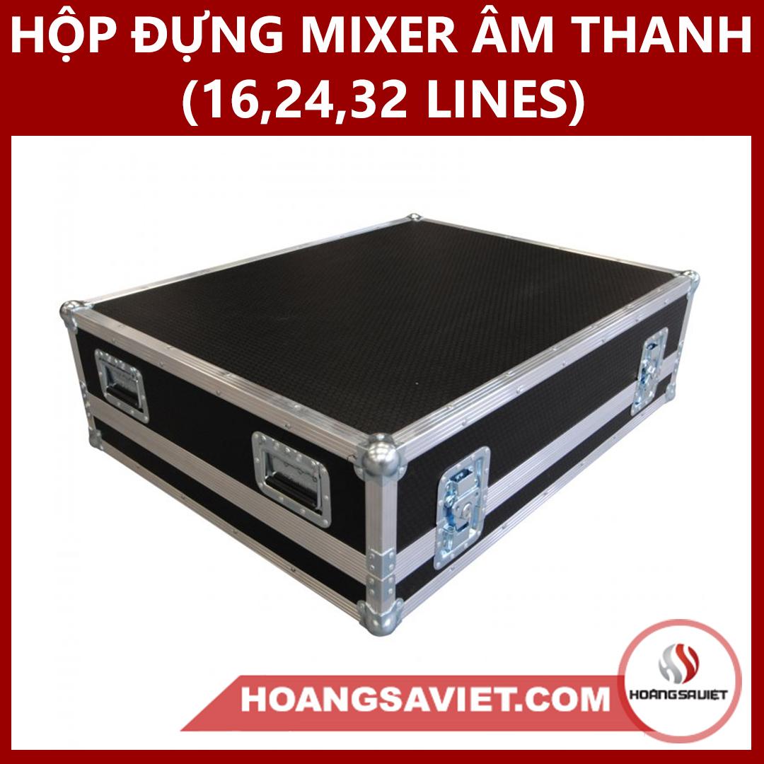 Hộp đựng Mixer âm Thanh (16,24,32 Lines)