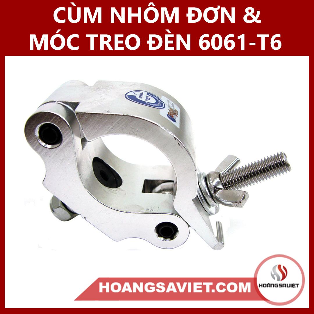 Cùm Nhôm & Móc Treo Đèn 6061-T6