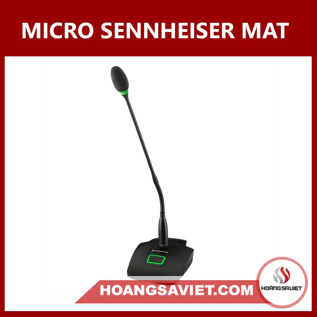Micro Đại Biểu Sennheiser MAT 153-S MEG 14-40-L-II