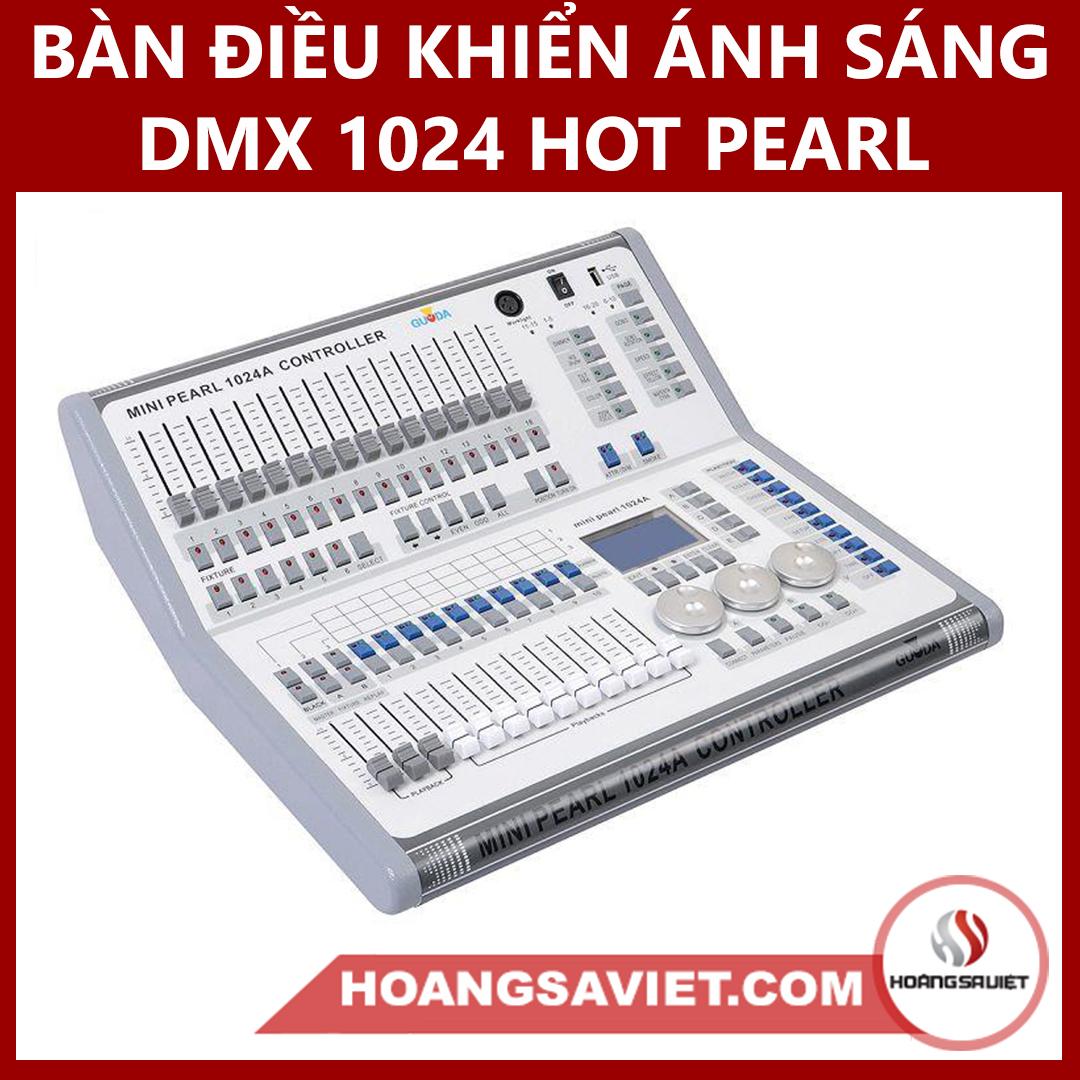 Bàn Điều Khiển Ánh Sáng DMX 1024 HOT PEARL