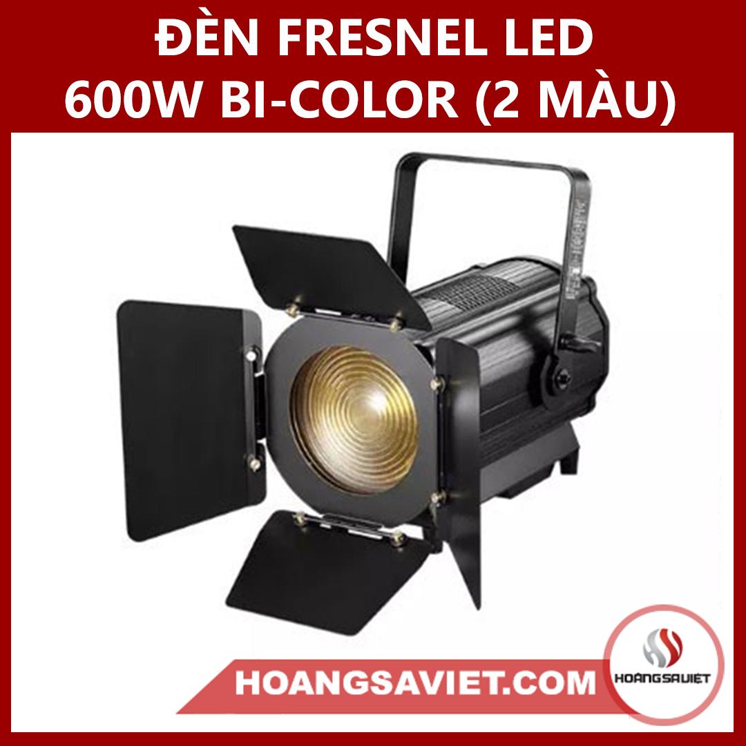 Đèn Fresnel Led 600w Bi-color (2 Màu)