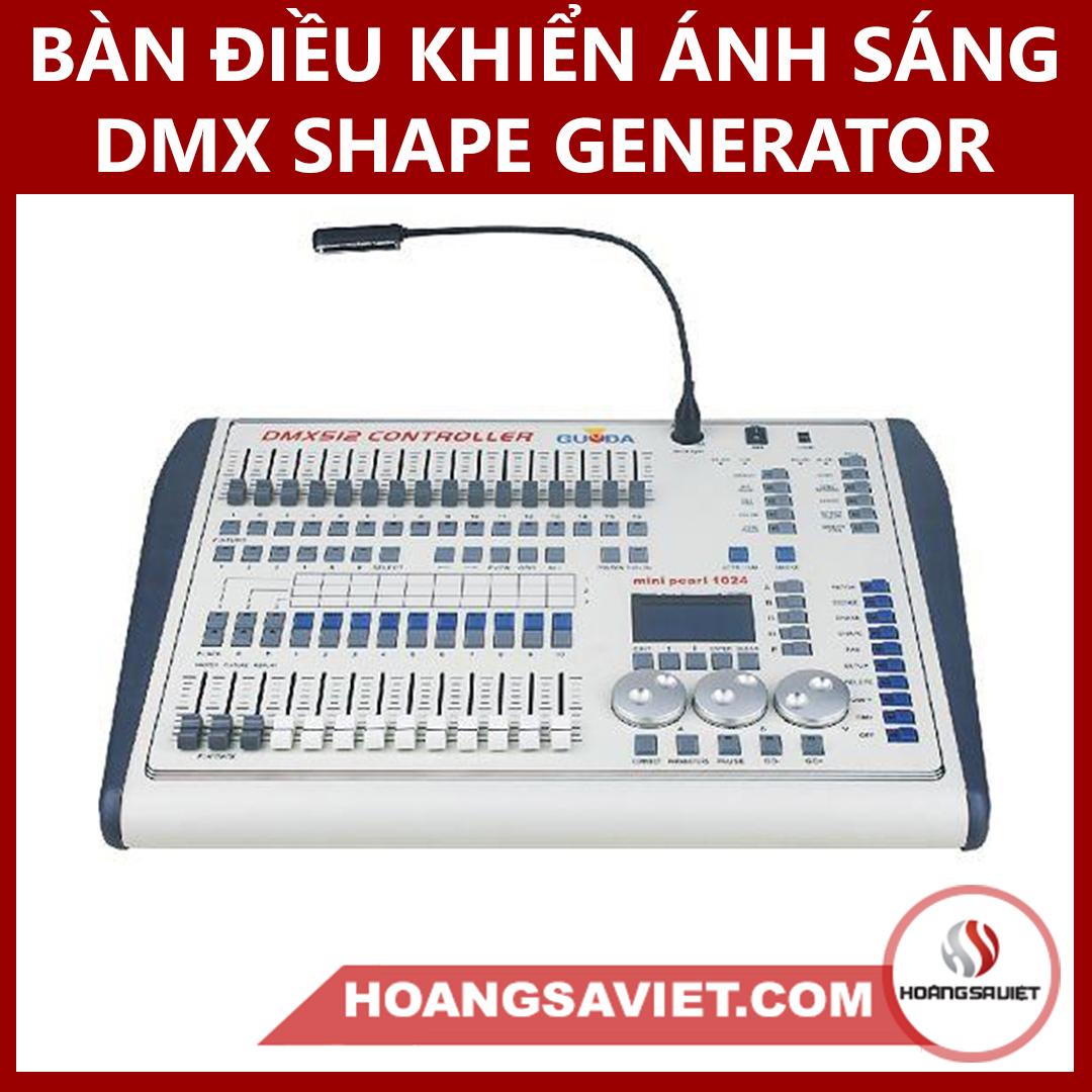 Bàn Điều Khiển Ánh Sáng DMX Shape Generator