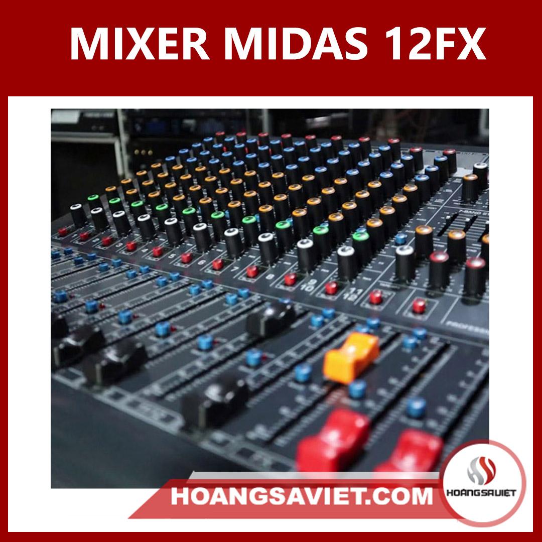 Mixer Midas 12FX