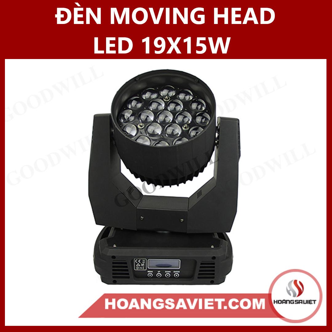 Đèn Moving Head Led 19X15W