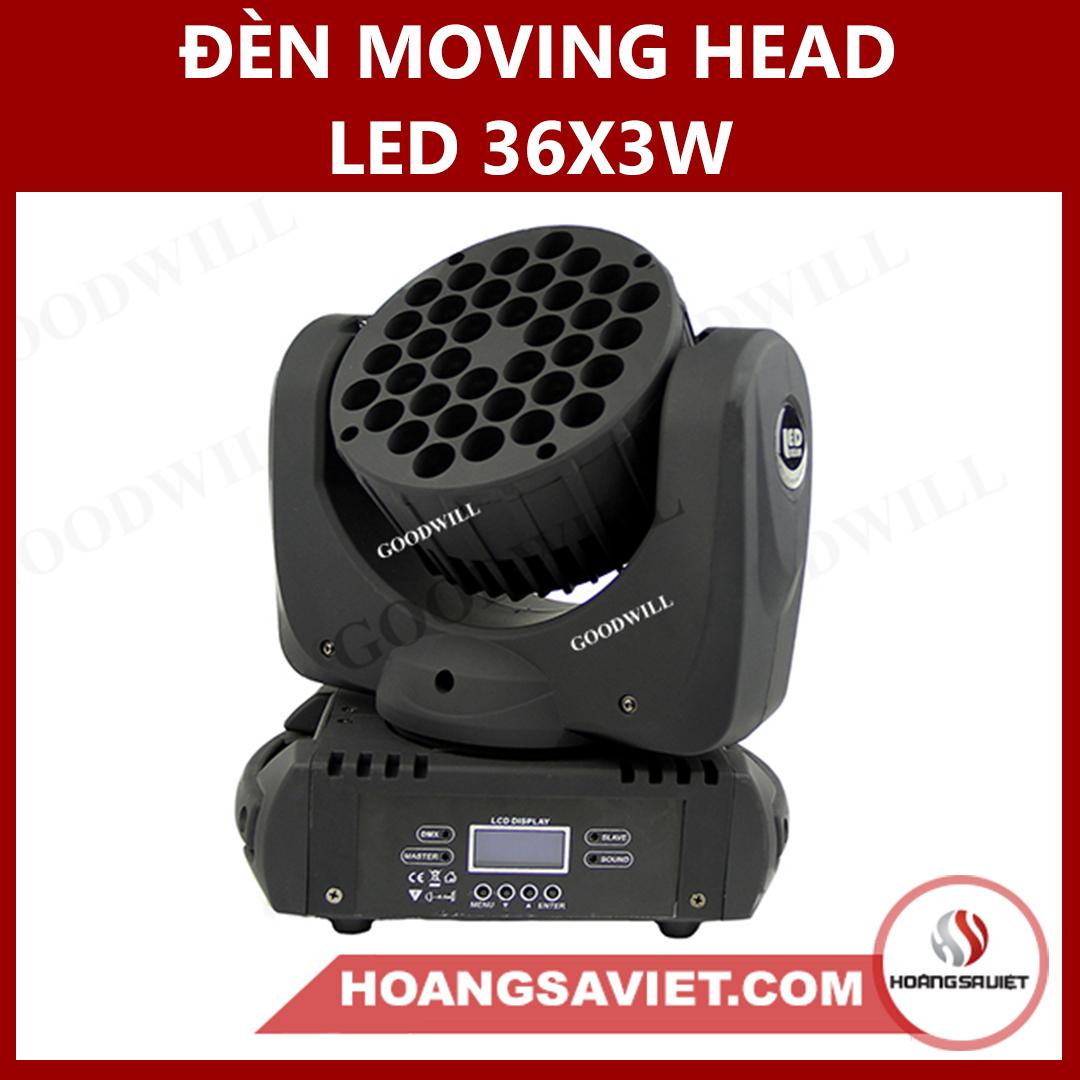 Đèn Moving Head Led 36X3W