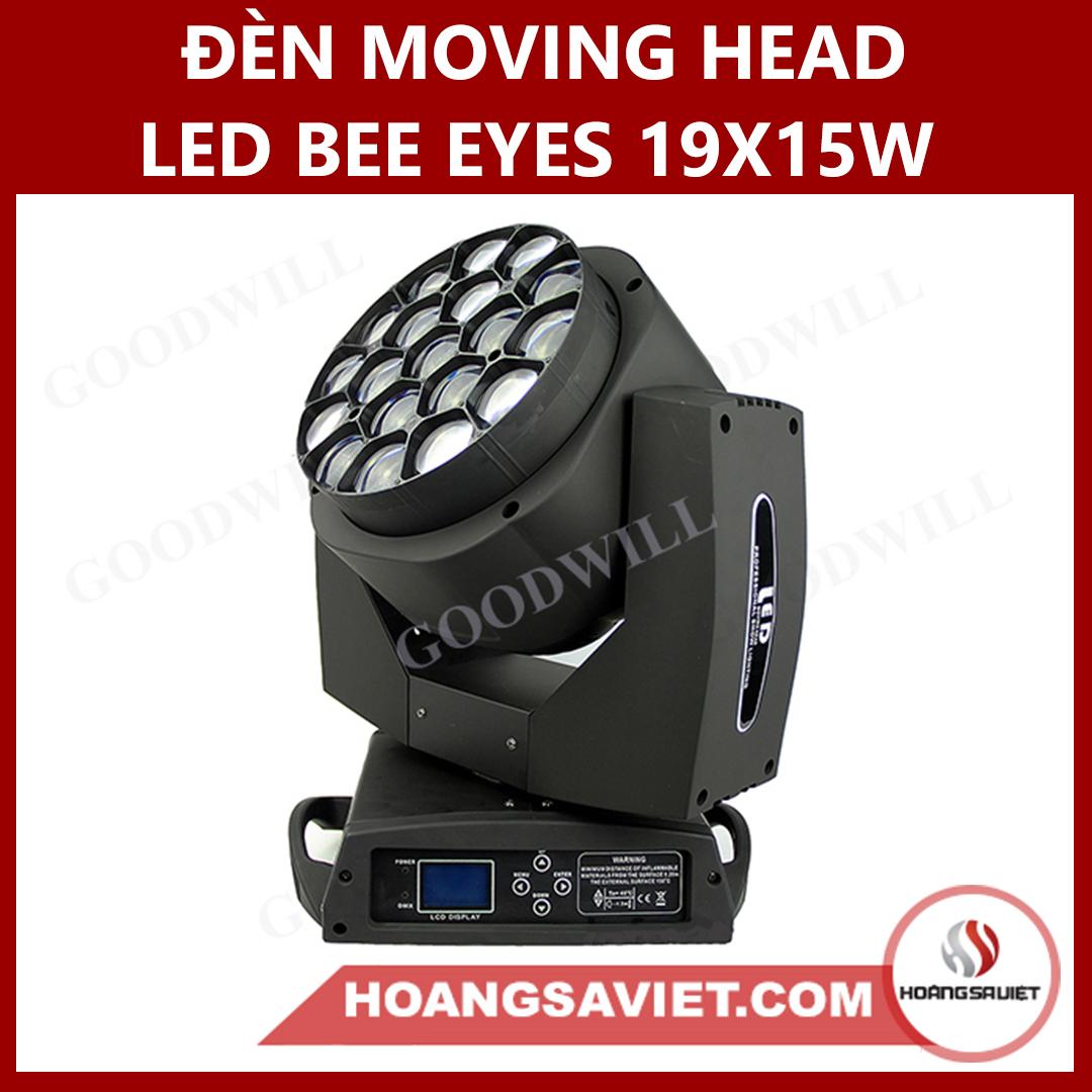 Đèn Moving Head Led Bee Eyes 19X15W