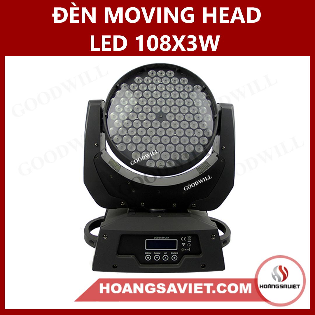 Đèn Moving Head Led 108X3W