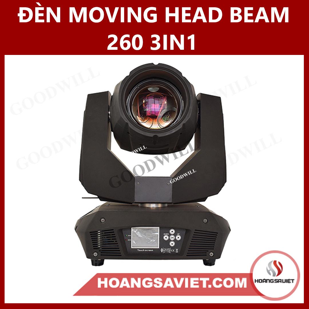 Đèn Moving Head Beam 260 3IN1