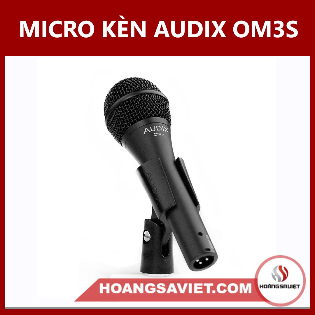Micro Kèn Audix OM3S