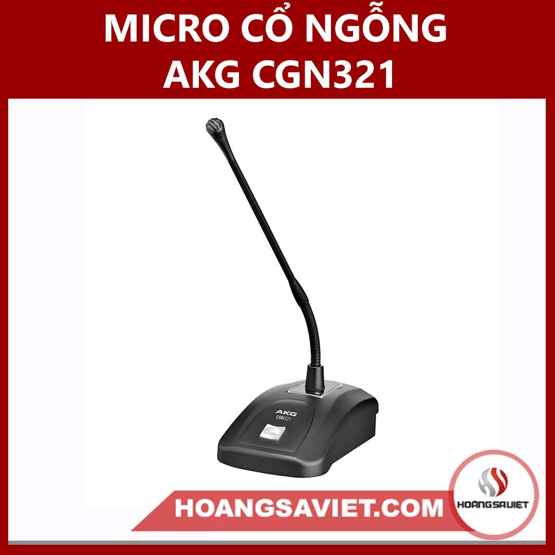 Micro Cổ Ngỗng AKG CGN321 STS