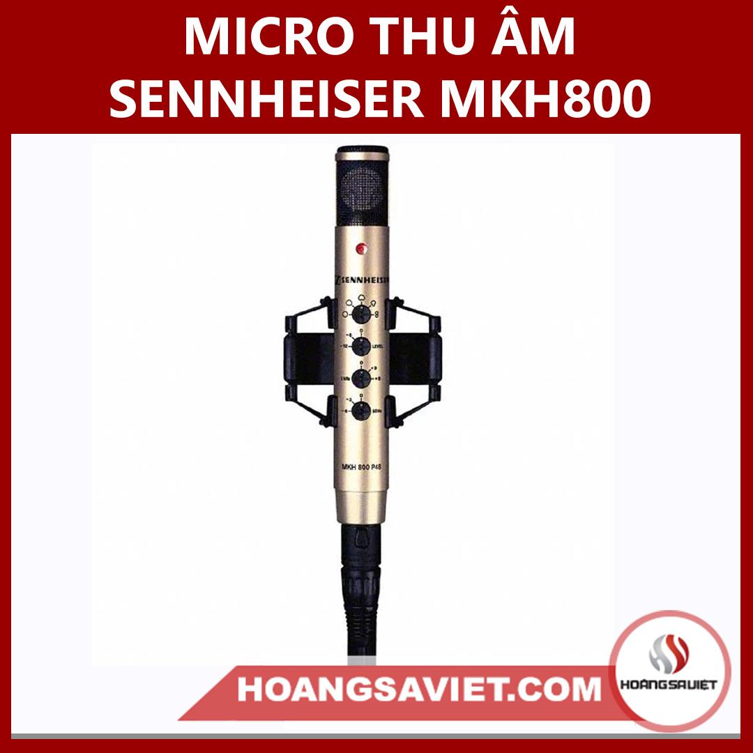 Micro Thu Âm Sennheiser MKH800 P48