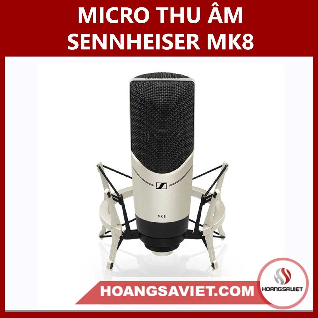 Micro Thu Âm Sennheiser MK8