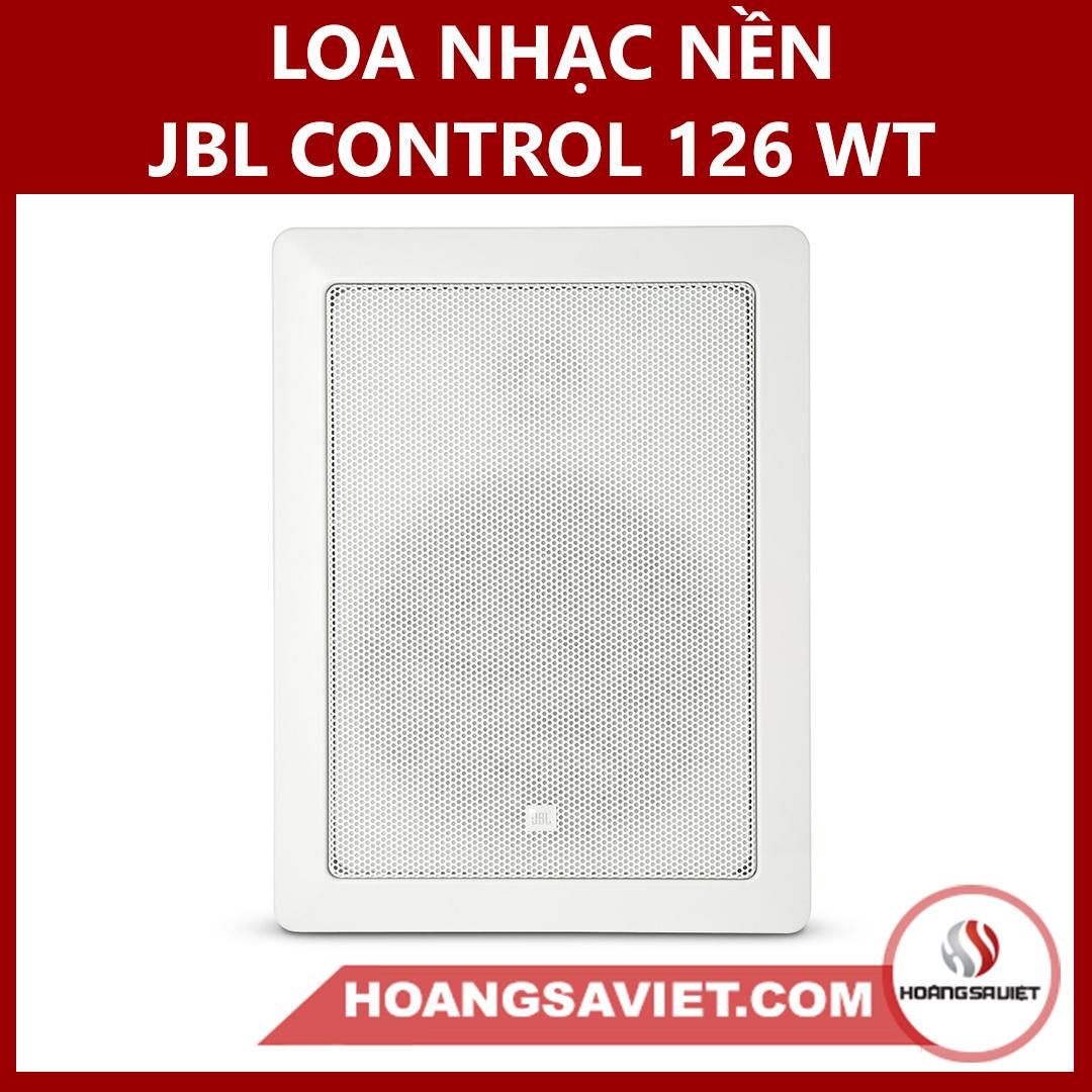 Loa Nhạc Nền JBL Control 126 WT (Hotel, Nhà Hàng, Công Cộng)