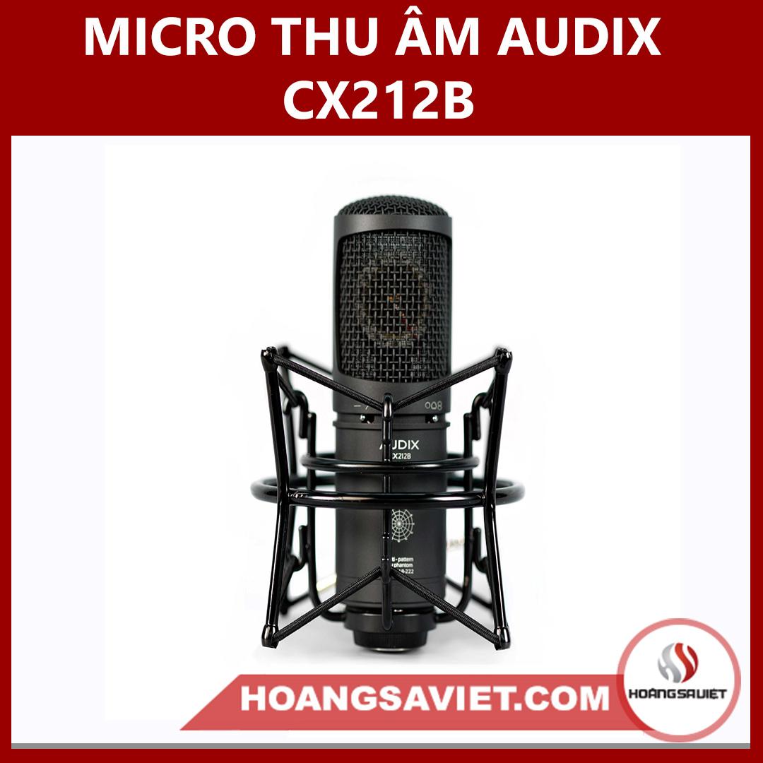 Micro Thu Âm Audix CX212B