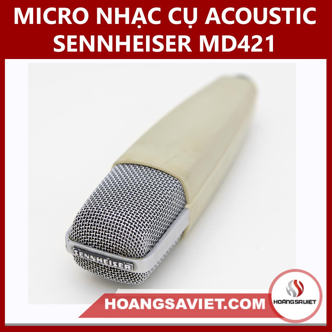 Micro Nhạc Cụ Acoustic Sennheiser MD421