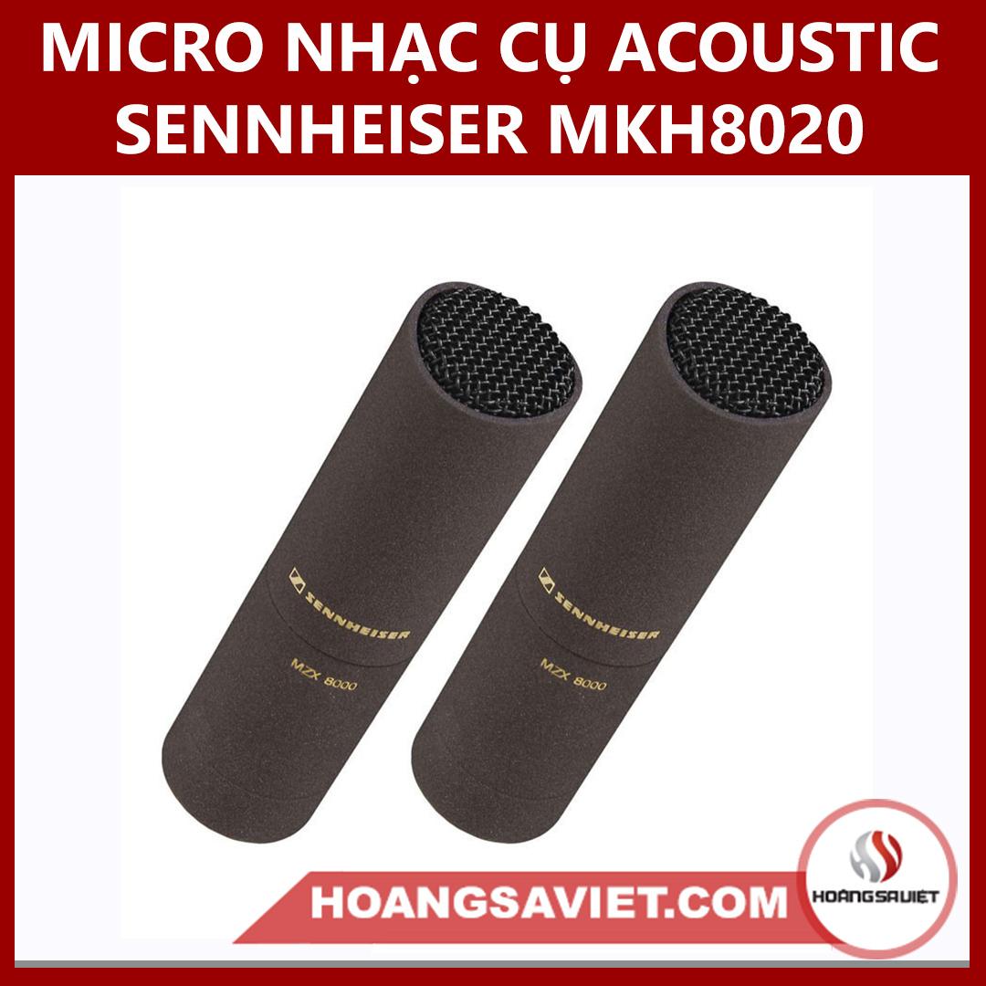 Micro Nhạc Cụ Acoustic Sennheiser MKH 8020