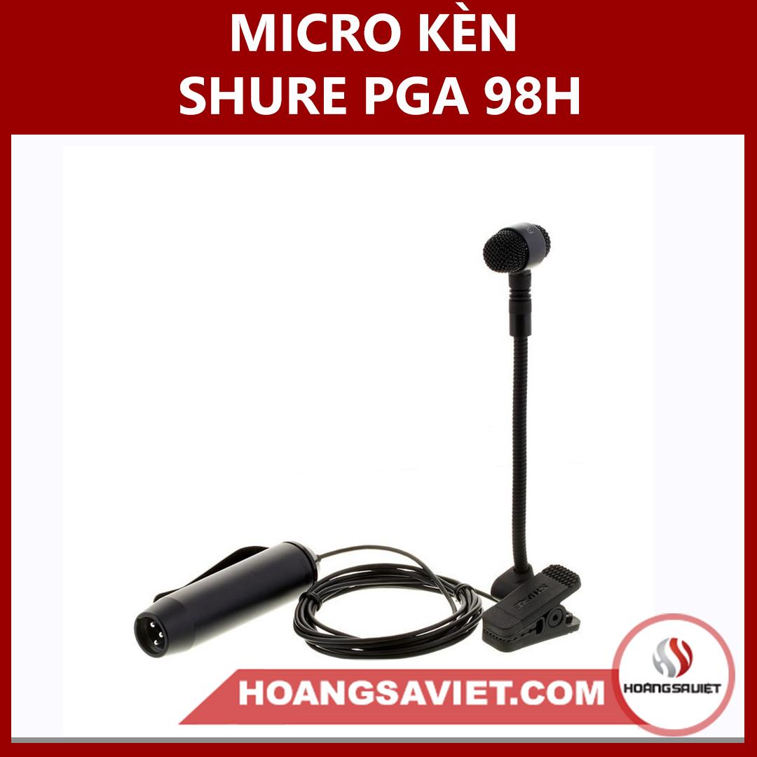 Micro Kèn Shure PGA 98H