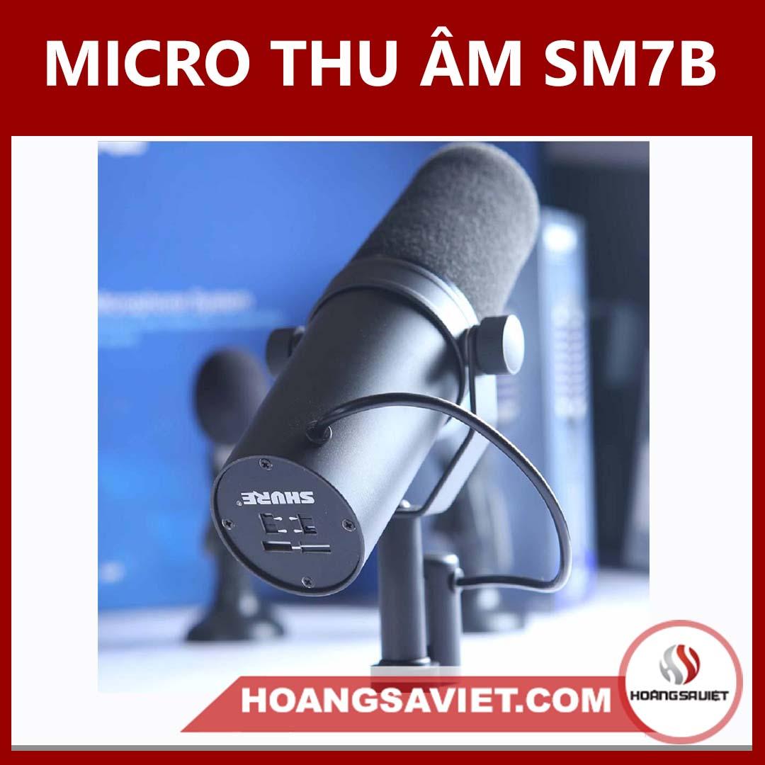Micro Thu Âm SM7B