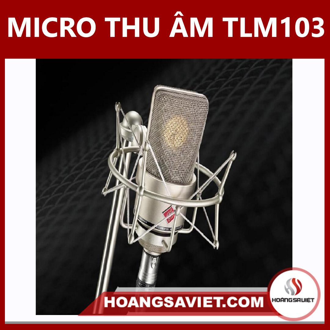 Micro Thu Âm TLM103