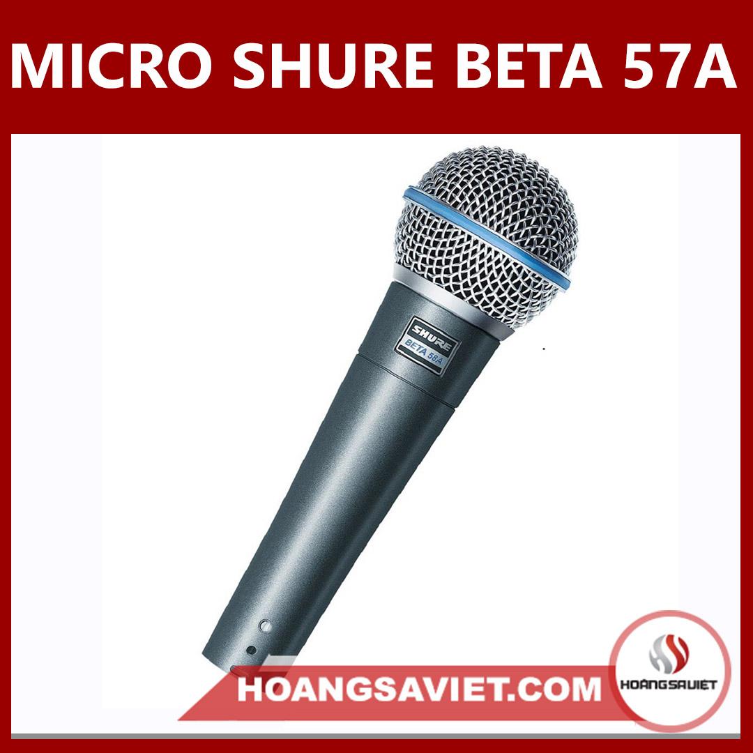 Micro Shure Beta 58A